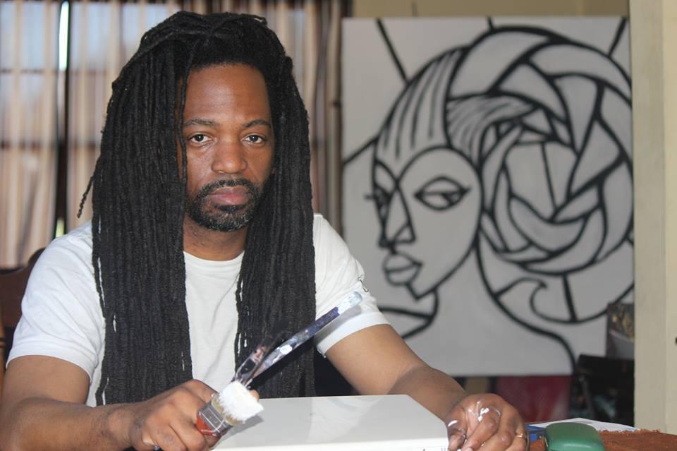 <h4>Malik Seneferu<br>African American Artist</h4>